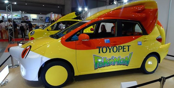 Toyopet Pokemon Fennekin Car Tokyo Toy Show 2014 image 2