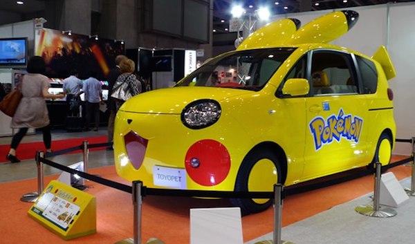 Toyopet Pokemon Pikachu Car Tokyo Toy Show 2014 image 1