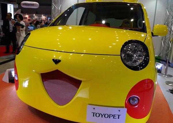 Toyopet Pokemon Pikachu Car Tokyo Toy Show 2014 image 2