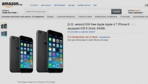 iPhone 6 Amazon Japan