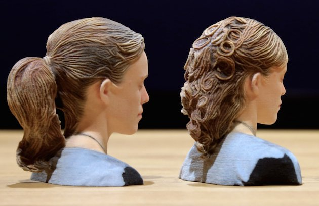 Disney Research Found a Way to 3D Print Human Hair Accurately
