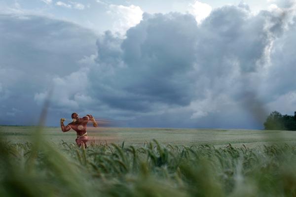 Flashing through the fields