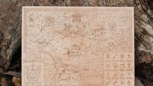 Legend of Zelda Map Woodlands by Neutral Ground and Alex Griendling image 1
