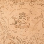Legend of Zelda Map Woodlands by Neutral Ground and Alex Griendling image 2