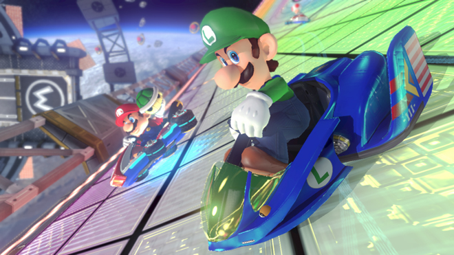 Mario Kart 8 DLC Luigi F Zero image