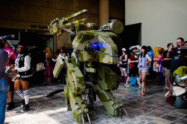 Metal Gear REX costume Pro Voltage Cosplay image 1