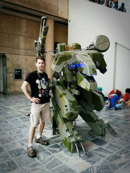 Metal Gear REX costume Pro Voltage Cosplay image 2
