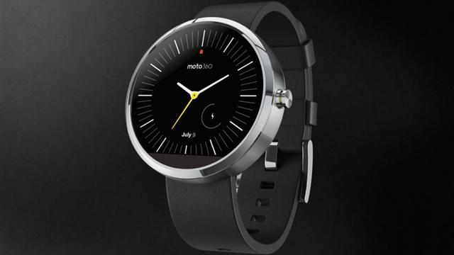 Moto 360 Android Wear Smartwatch