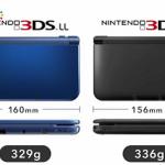 New Nintendo 3DS LL length width comparison image