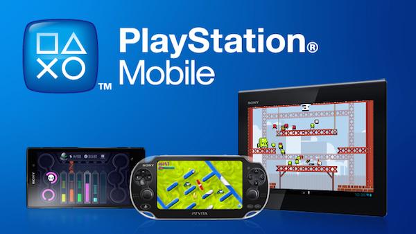 PlayStation Mobile logo Vita Mobile Tablet image