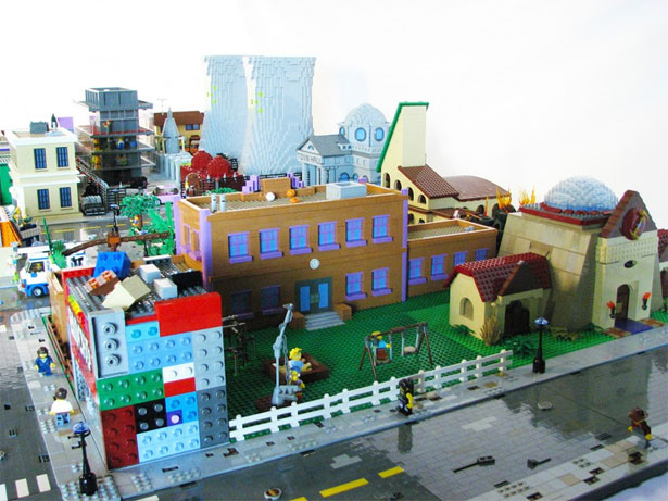 Springfield in Lego 9