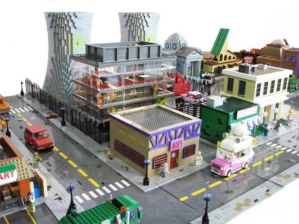 Springfield in Lego