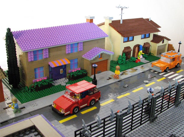 Springfield in Lego 4