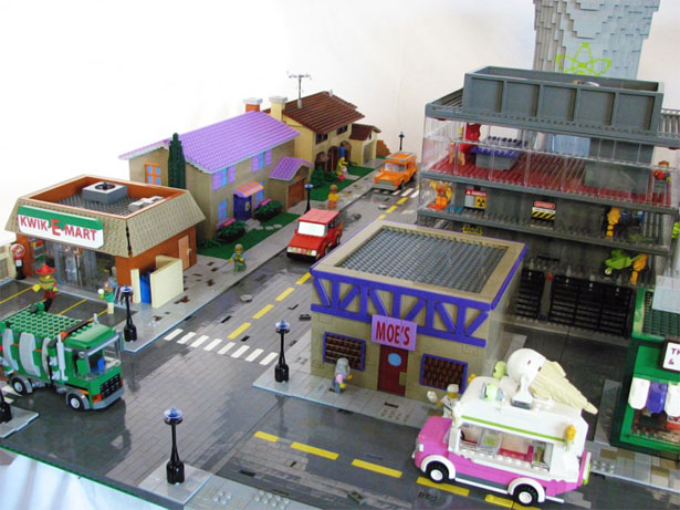 Springfield in Lego 6