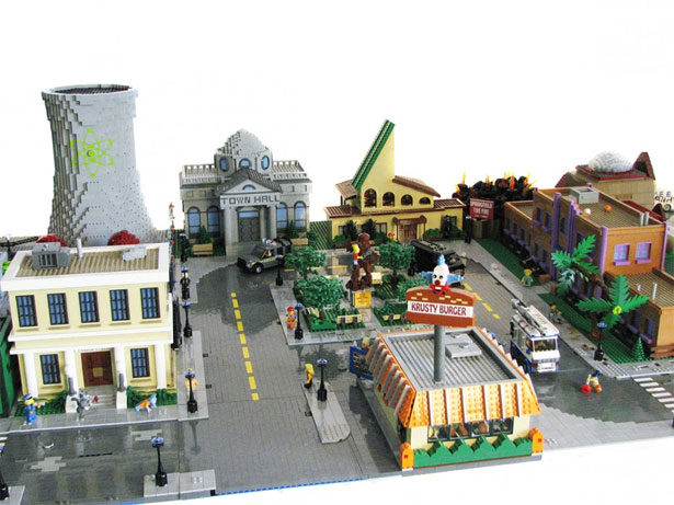 Springfield in Lego 3