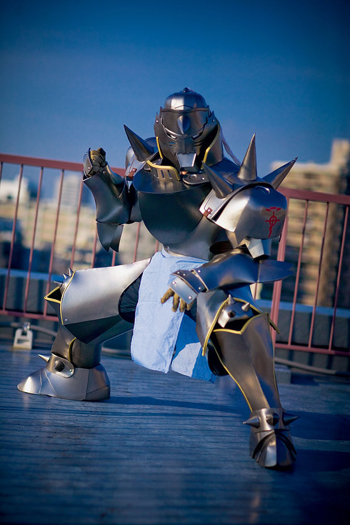 Alphonse Elric from the manga and anime Fullmetal Alchemist
