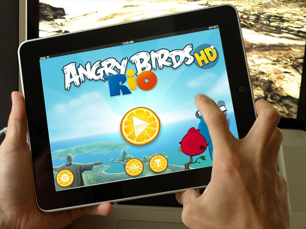 Angry Bird iPad 2