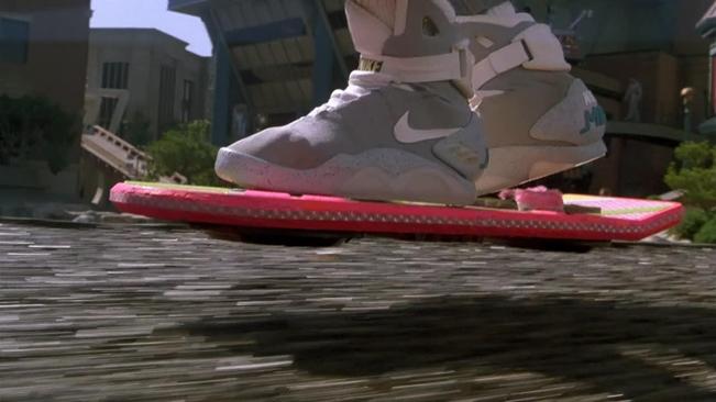 Floating hoverboard