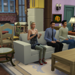 Friends on Sims