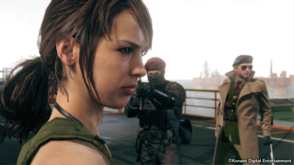 Metal Gear Solid V: The Phantom Pain Quiet image