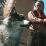 Metal Gear Solid V wolf dog image