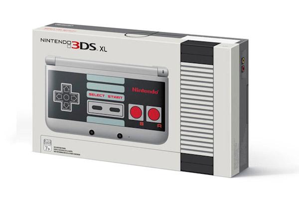 Nintendo 3DS XL NES box