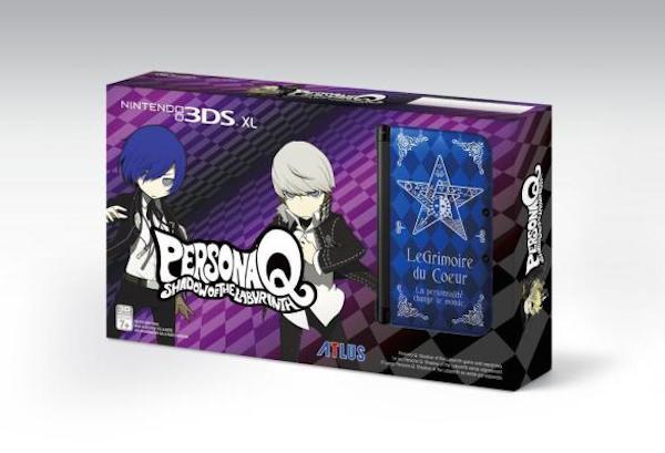 Nintendo 3DS XL Persona Q box
