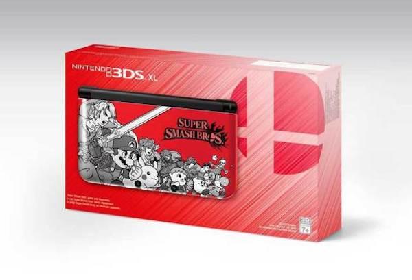 Nintendo 3DS XL Super Smash Bros. box