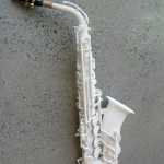 Olaf Diegel's 3D Printed Alto Sax 04
