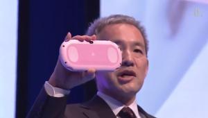 Pink White PS Vita TGS image