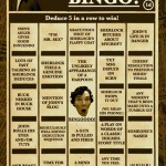 Sherlock Bingo