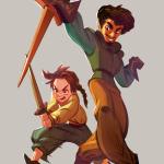 Syrio & Arya