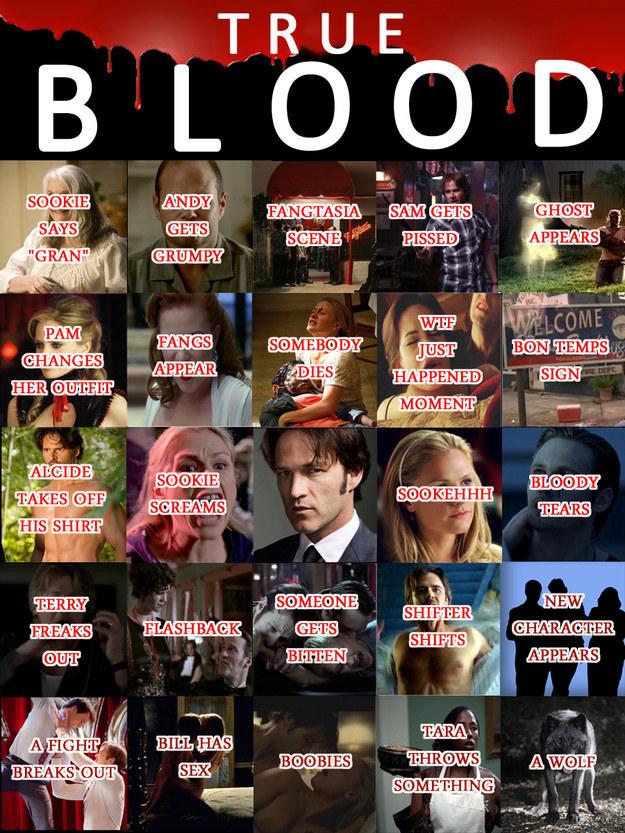 True Blood Bingo