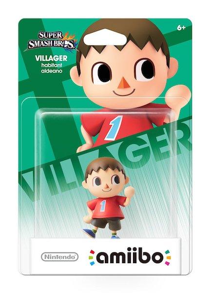 Villager amiibo figure image