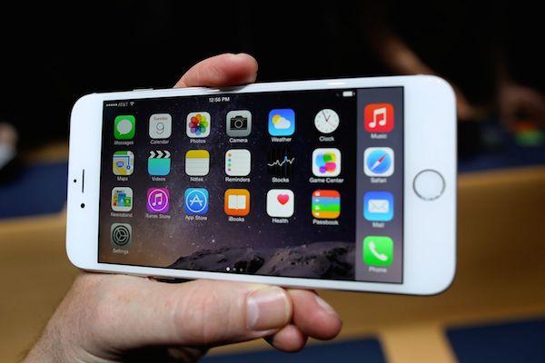 iPhone 6 Plus landscape mode image