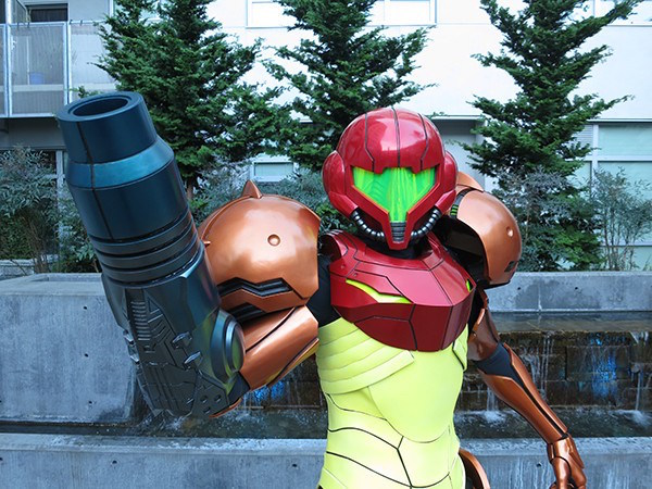 3D Printed Samus Aran's Vaira Suit From Metroid image 1