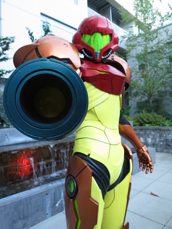 3D Printed Samus Aran's Vaira Suit From Metroid image 2