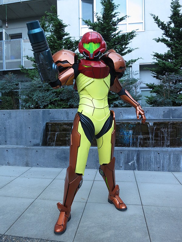 3D Printed Samus Aran's Vaira Suit From Metroid image 3