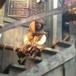 A dwarf in hiding