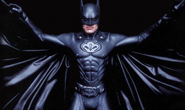 Batman nipple suit