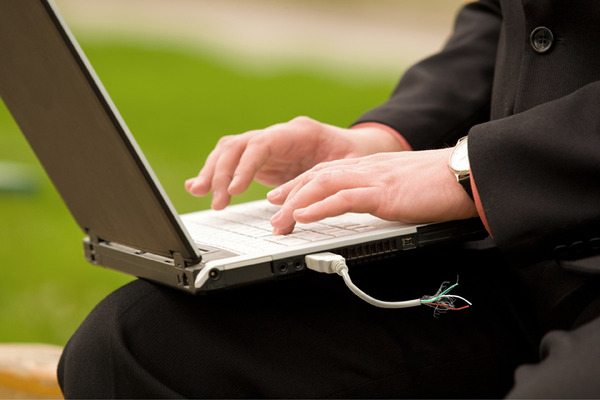 Laptop USB Hack