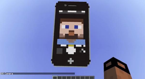 Minecraft iPhone image