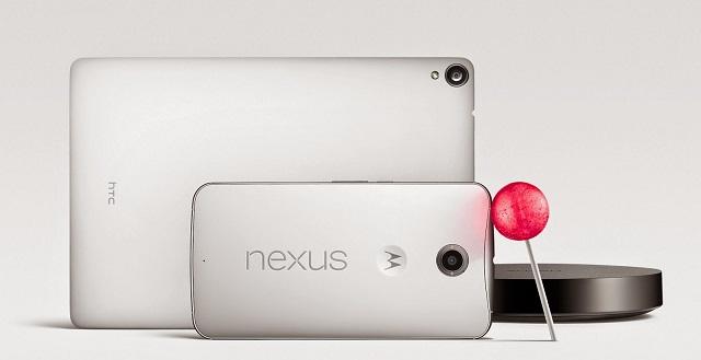 Nexus 6 – Nexus 9 – Android Lollipop