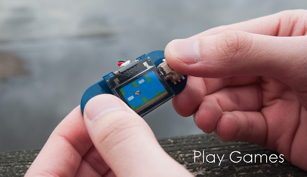 TinyScreen Flappy Bird