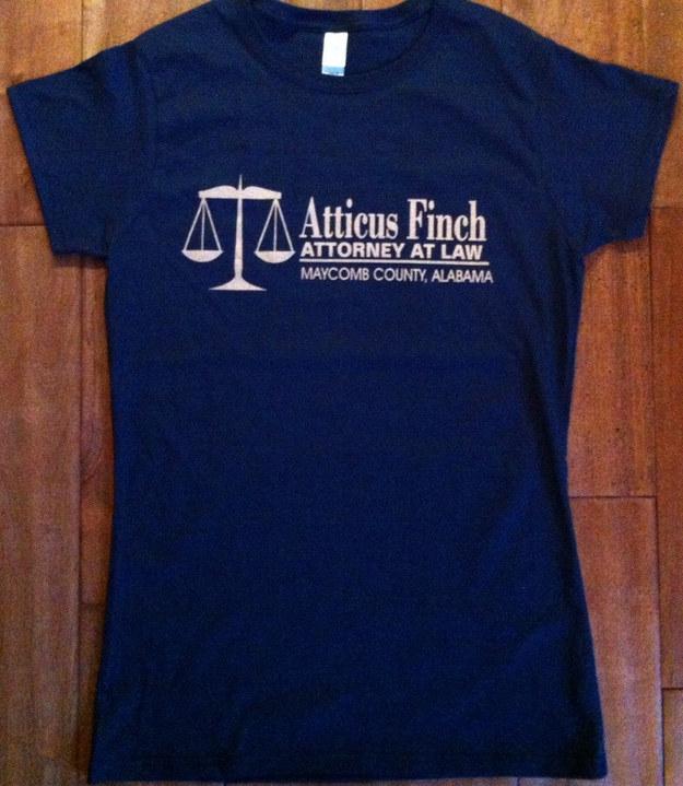 Atticus Finch Shirt