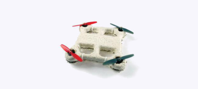 Biodegradable drone 1