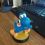 Blue Yoshi Amiibo image