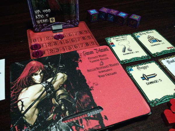 Castlevania Board Game by XsimonbelmontX image 4