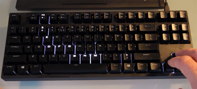 Keyboard hack snake