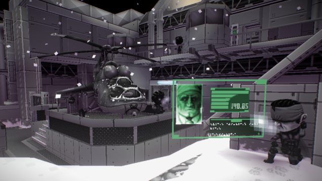 Metal Gear Solid Diorama
